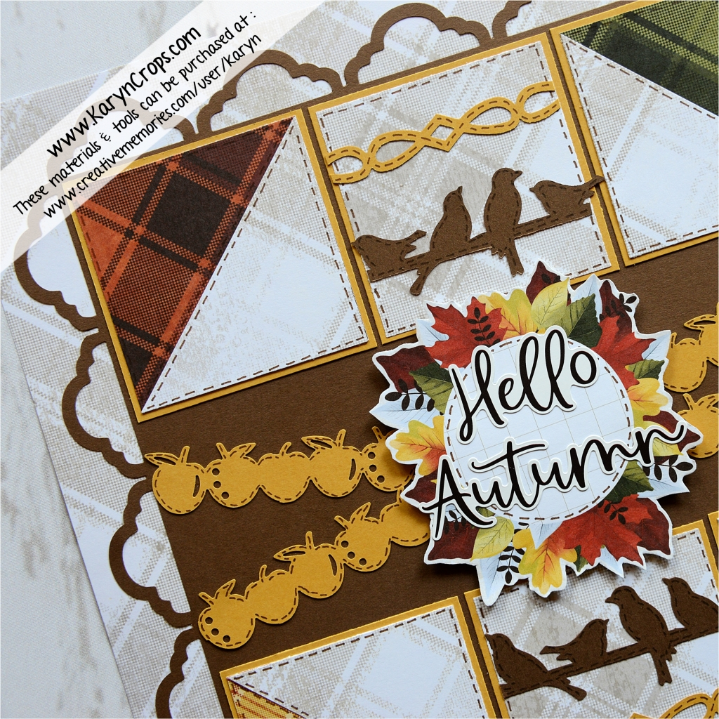 Creative Memories Sticker Lot of 20 Fall Leaves Pumpkin Apples Thanksgiving